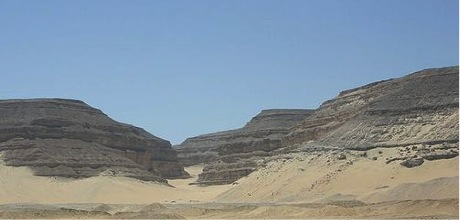 Abydos Bergspalte