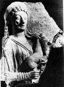 Aphrodite mit dem Ziegenbock.
