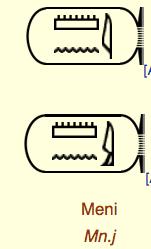 Menes Hieroglyphe