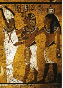 Der schwangere Osiris 4-farbig