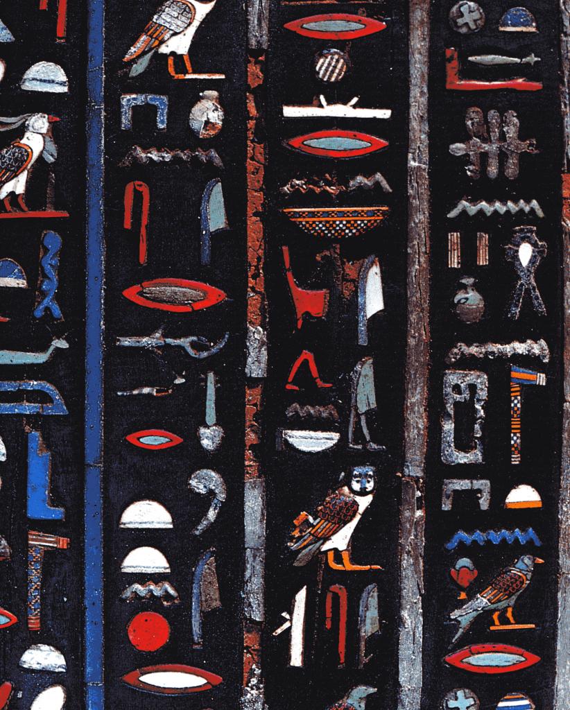 Farb-Hieroglyphen