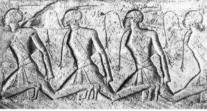 Gefangene Nubier