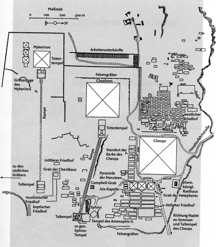 Das Plateau von Gizeh (LÄ,II,613/614)