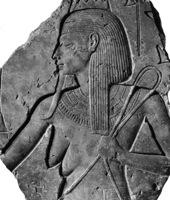 Hapi, der patriarchale Nilgott mit den weiblichen Brüsten