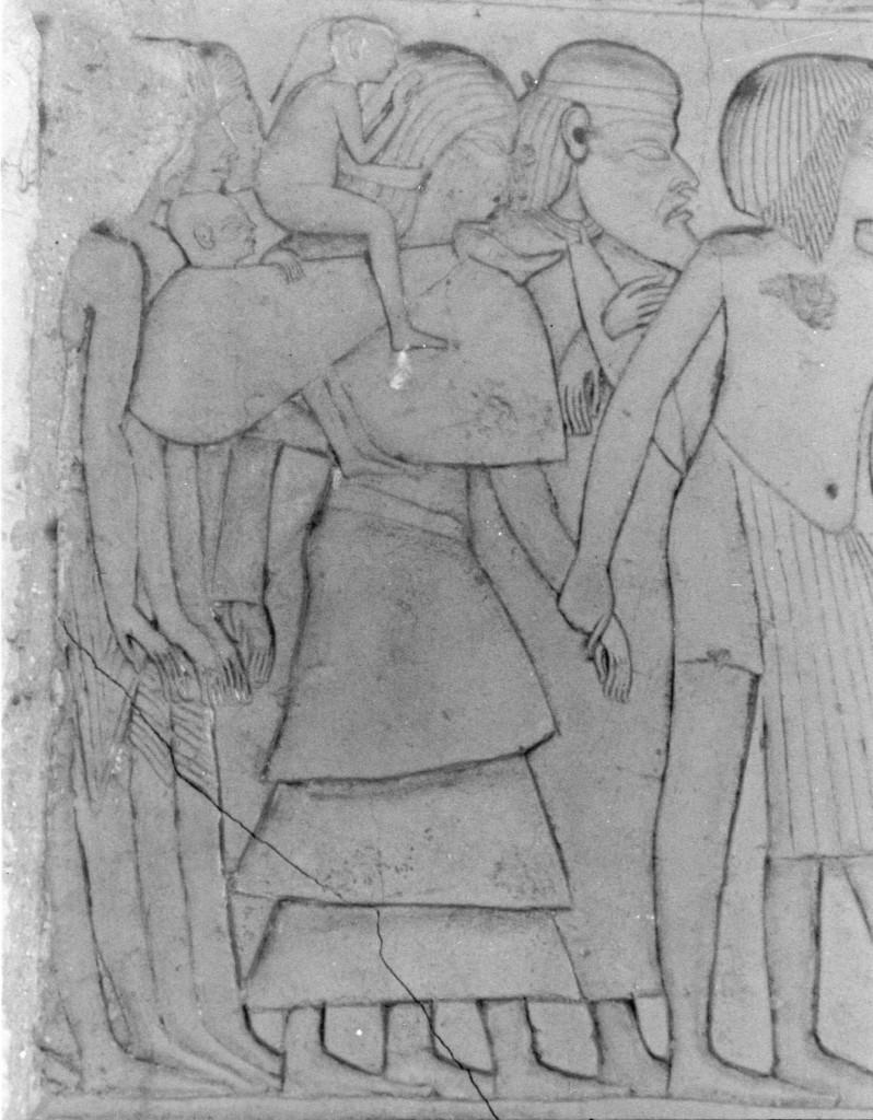 Haremhab Gefangene Frau