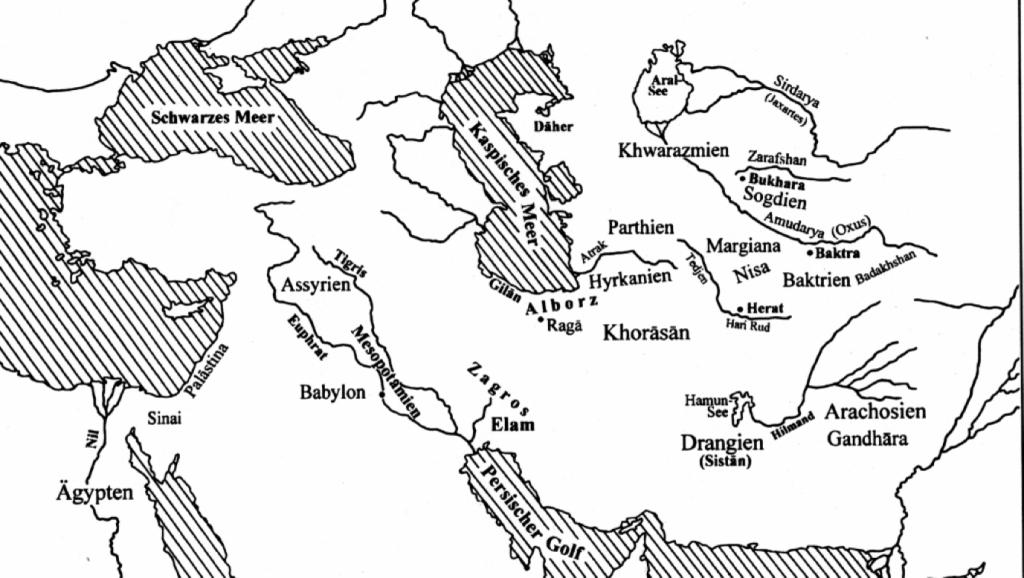 Karte Arier