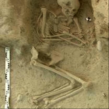 Skelett Griechenland