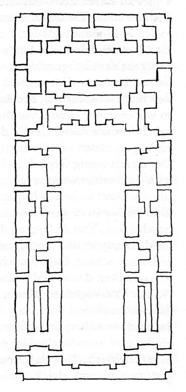 Tempel Grundriss Keiser