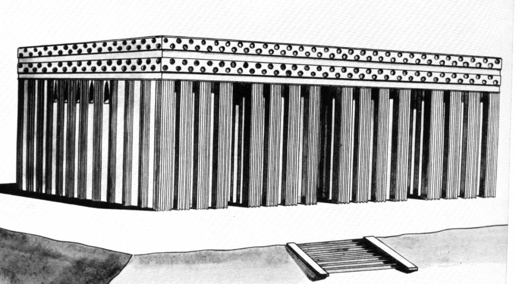Tempel-Rekonstruktion-Mesopotamien