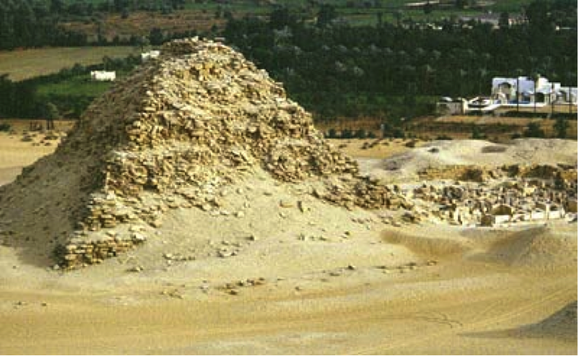 The pyramid and mortuary temple of Sahure, at Abu Sir By Dr Aidan Dodson